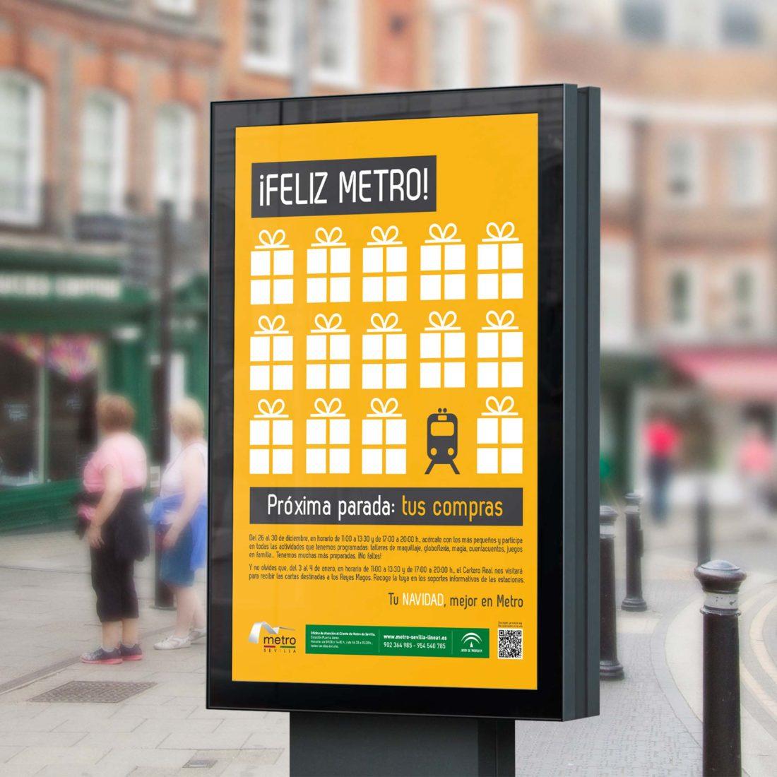 Agencia de Publicidad en Sevilla, Metro Sevilla