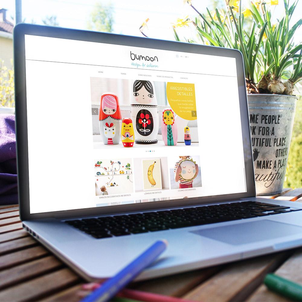 Desarrollo de tienda online en Sevilla, Bumoon