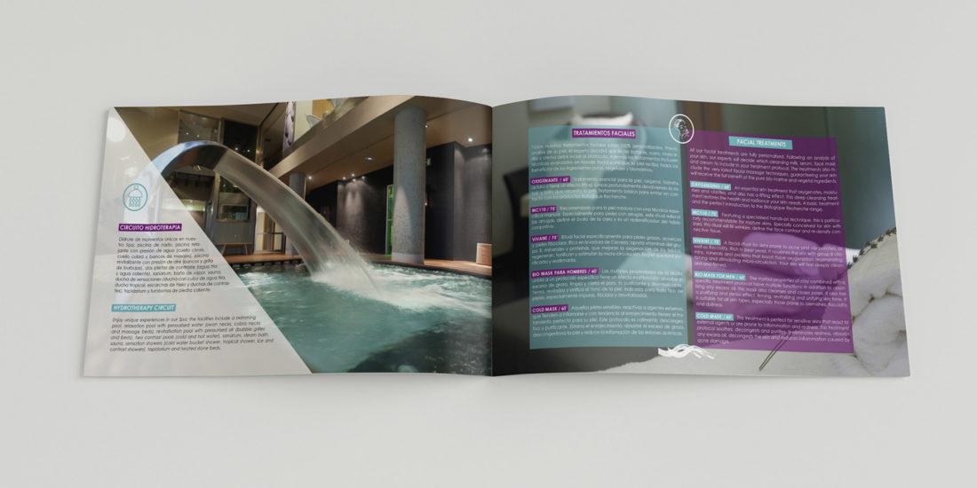 Diseño de dossier corporativo, Valbusenda Hotel Bodega & Spa