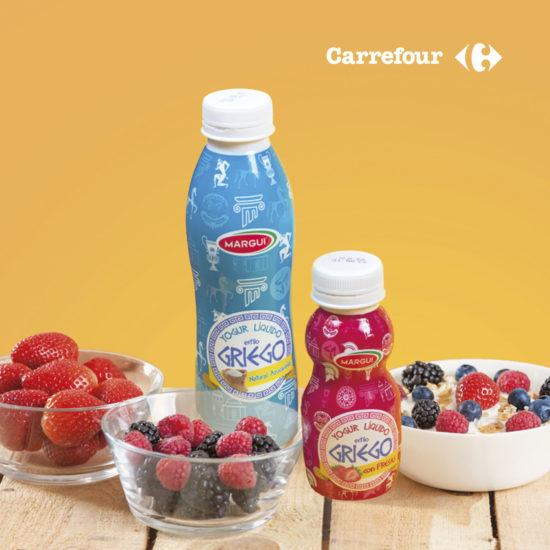 Diseño de packaging en Sevilla |Yogurt griego Margui