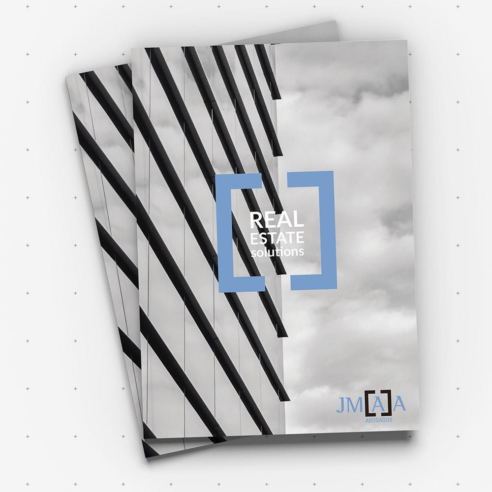 Diseño de Identidad Corporativa y dossier en Sevilla, JMAA Abogados
