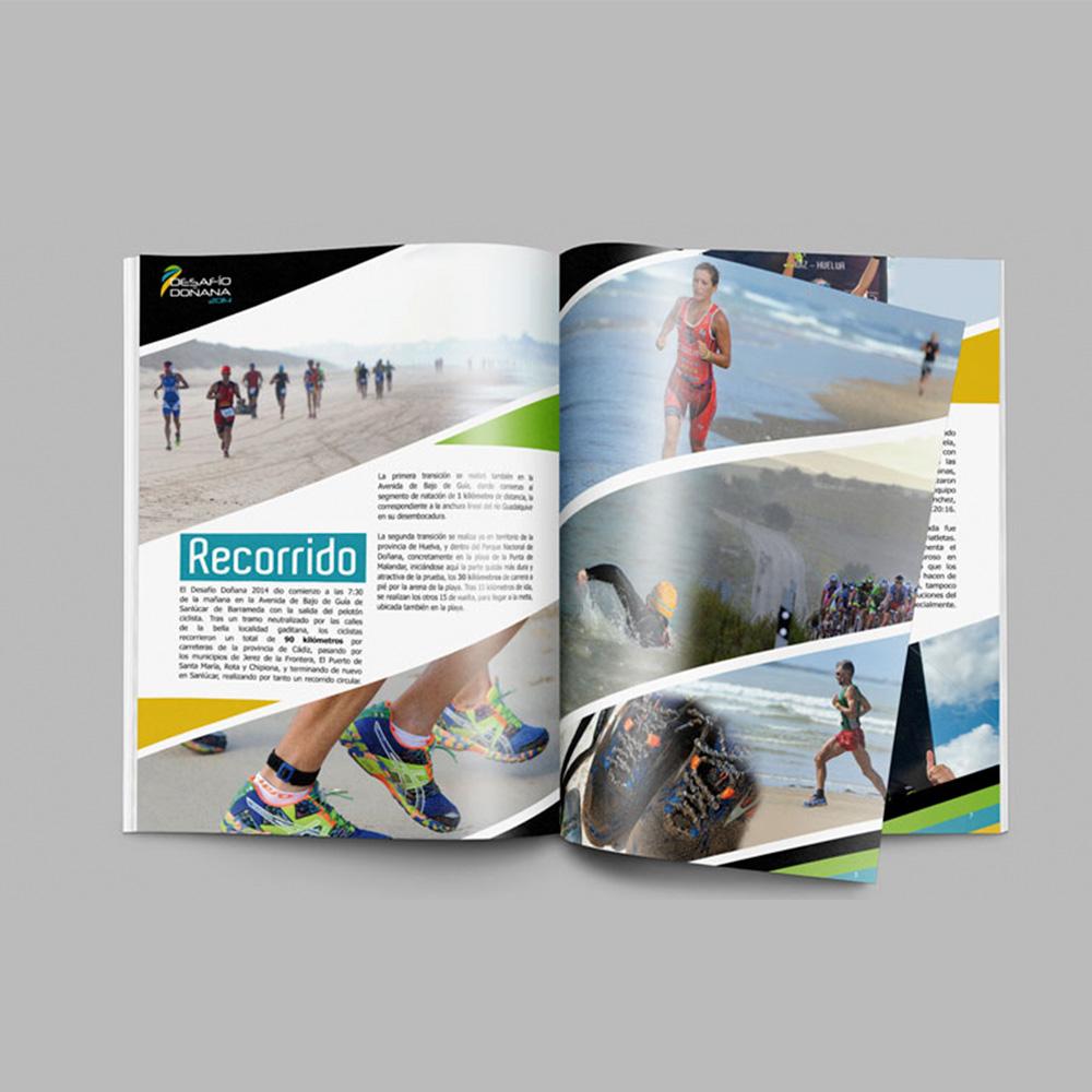 Diseño editorial en Sevilla, Desafío Doñana de Turismo y Deporte de Andalucía