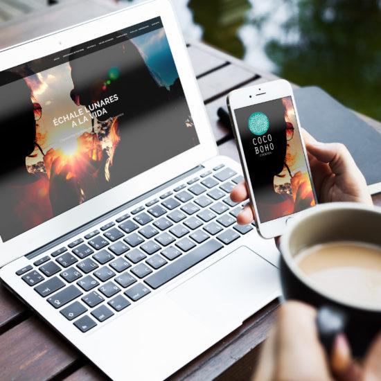 Diseño de página Web CocoBoho