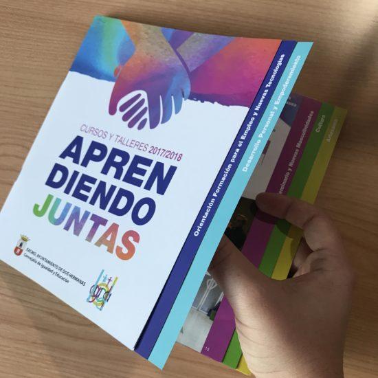 Diseño editorial de libre para Ayuntamiento Dos Hermanas