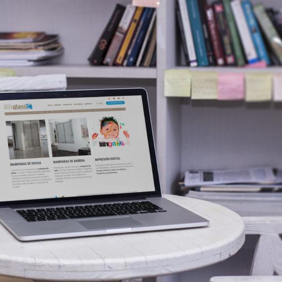 Desarrollo plataforma web Hidroglass