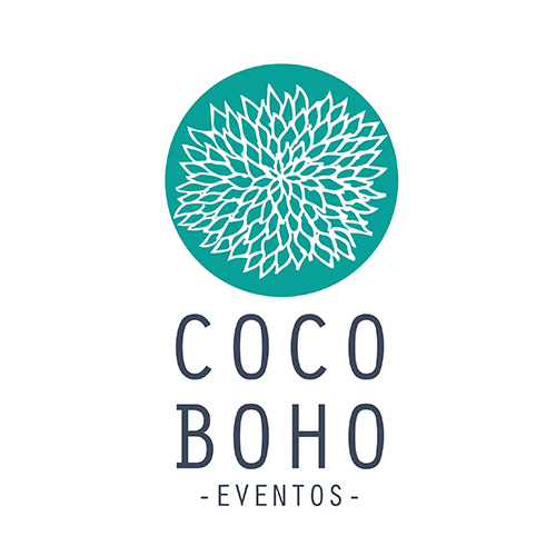 Diseño de logotipos CocoBoho Eventos