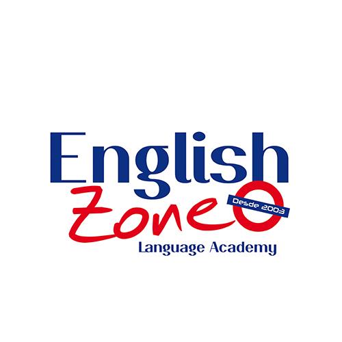Disñeo de logotipo y flyer EnglishZone