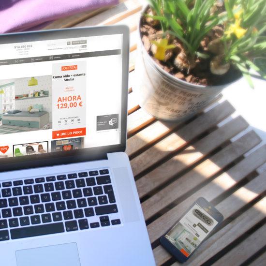 Desarrollo de tienda online Tus Cosas de Casa