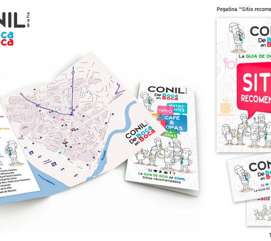 Diseño Flyer gráfico Conil