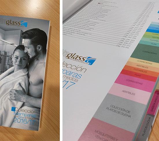 Diseño editorial de Catálogo de productos Hidroglass